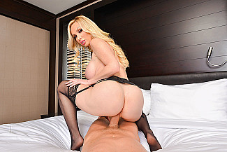 Nikki Benz fucking in the chair with her piercings vr porn - Sex Position 4