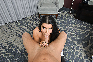 Romi Rain fucking in the hotel with her big tits vr porn - Sex Position 2
