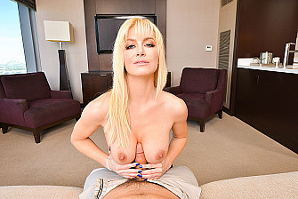 Serene Siren Sings When You Make Her Cum in VR Porn  - Sex Position 1