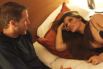 Madelyn Marie fucking in the hotel with her big tits - Blowjob