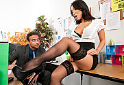 Asa Akira & Rocco Reed in Naughty Office