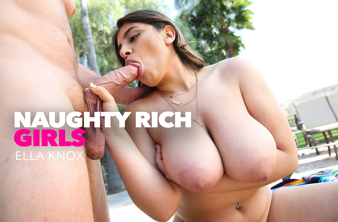 Watch Ella Knox and Kyle Mason 4K video in Naughty Rich Girls