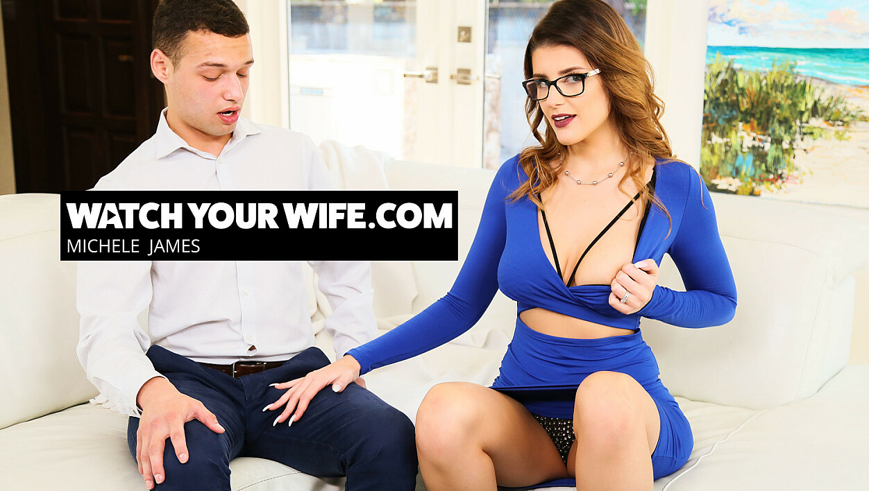 Watch your wife Michele James fuck another guy