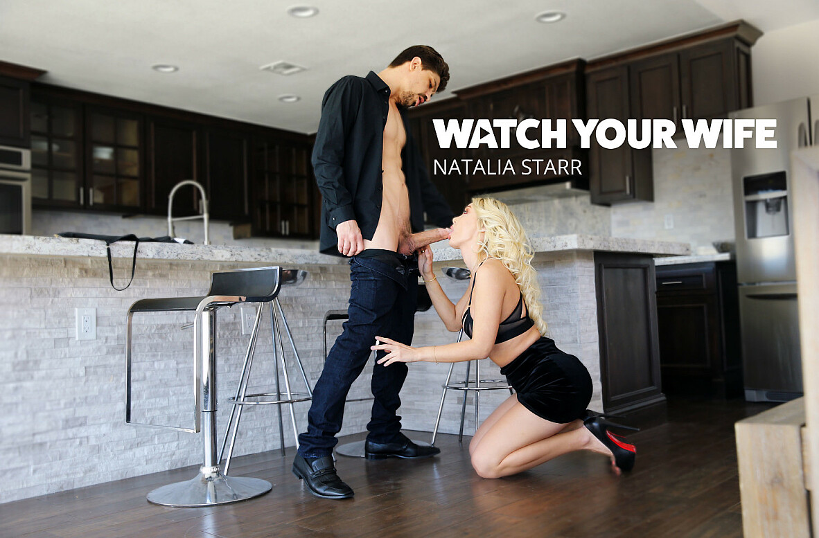 Watch Natalia Starr and Bruce Venture 4K video in Watch Your Wife