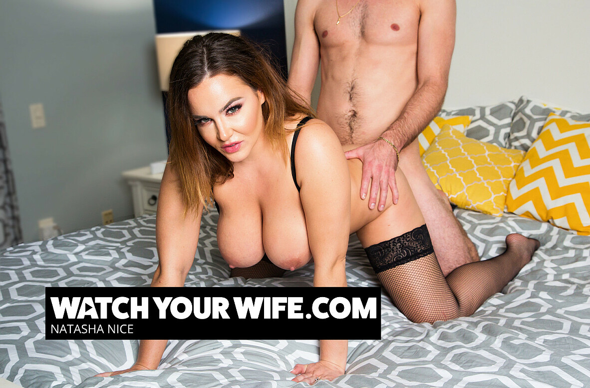 Watch Natasha Nice and Lucas Frost 4K video in Watch Your Wife
