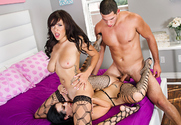 Cassidy Banks & Katrina Jade & Tony Martinez in 2 Chicks Same Time