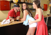 Teal Conrad & Lily Love & Derrick Pierce in 2 Chicks Same Time