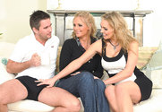 Phoenix Marie & Tanya Tate & Steve Hooper in 2 Chicks Same Time