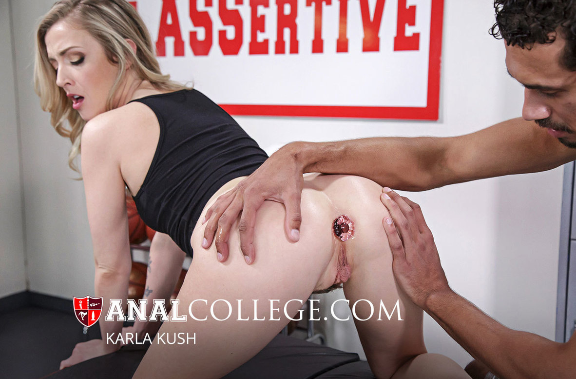 Watch Karla Kush and Alex Jones video in Anal College