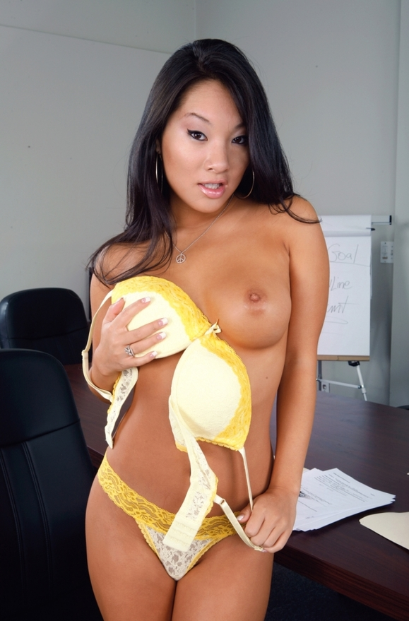 Asa Akira - xxx pornstar in many Stockings & Outdoors & Employee videos