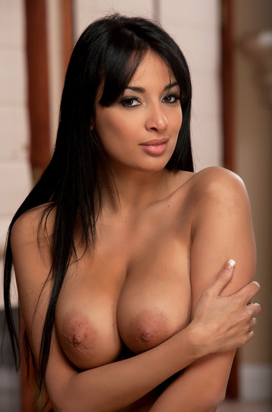 Hot french brunette big tits first time