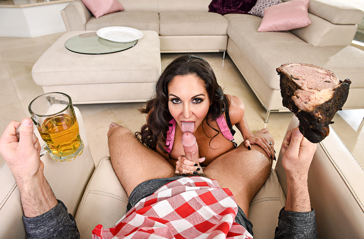 Watch Ava Addams and Charles Dera 4K video in Housewife 1 on 1