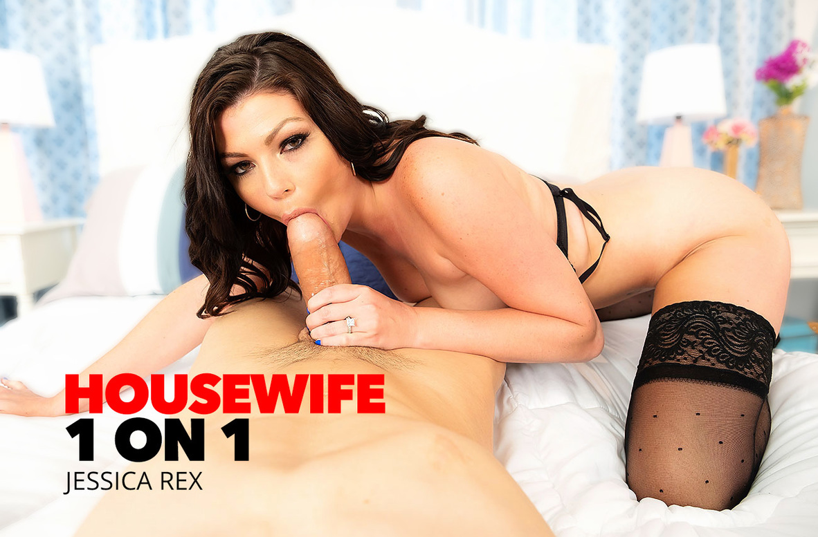 Watch Jessica Rex and Bambino 4K video in Housewife 1 on 1