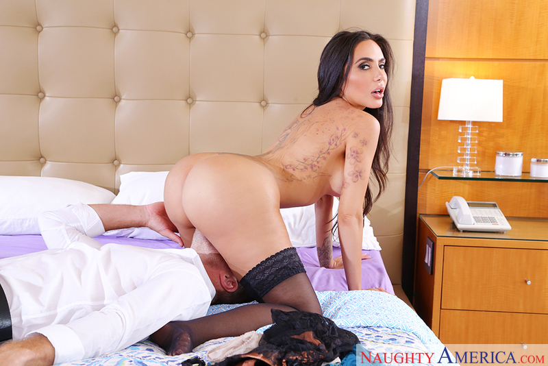 Lela Star fucking in the bedroom with her big ass - Sex Position 2