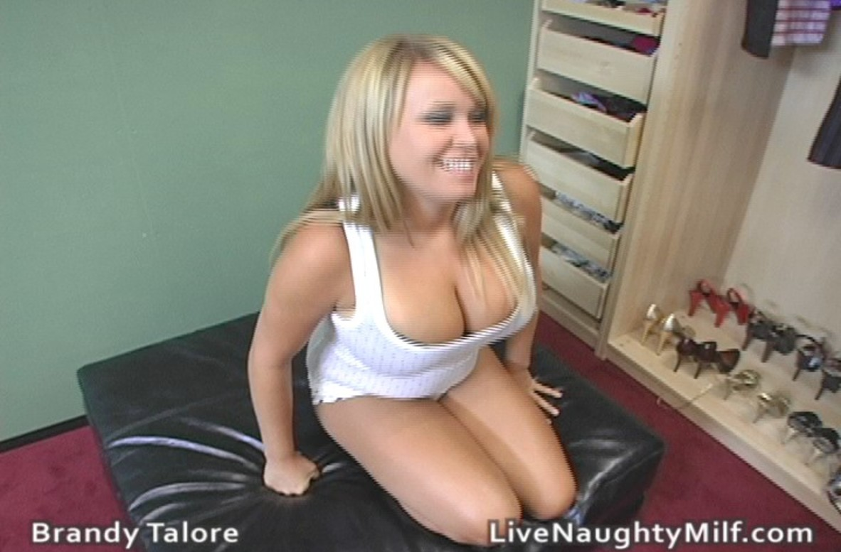 Watch Brandy Talore video in Live Naughty Milf