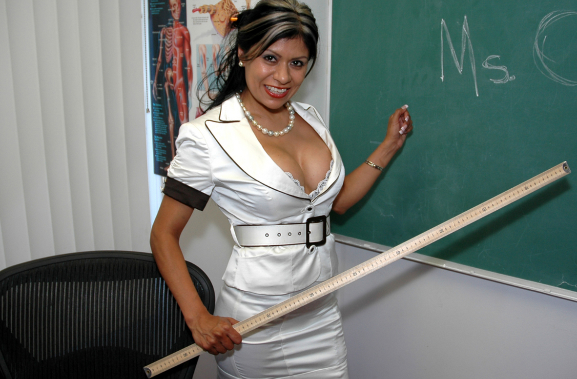Watch Gabby Quinteros video in Live Naughty Teacher