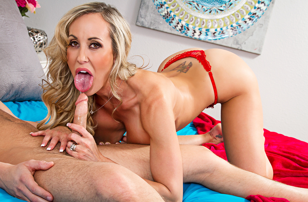 Watch Brandi Love and Seth Gamble 4K American video in My Friend's Hot Mom