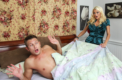 Watch Nikita Von James and Bill Bailey video in My Friend's Hot Mom
