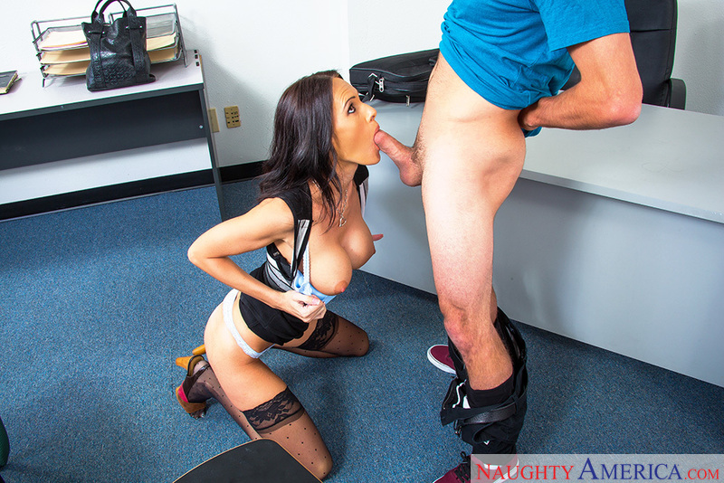 Jennifer Dark fucking in the classroom with her medium ass - Sex Position 2