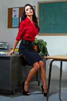 Jessica Jaymes starring in Teacherporn videos with Big Dick and Big Tits