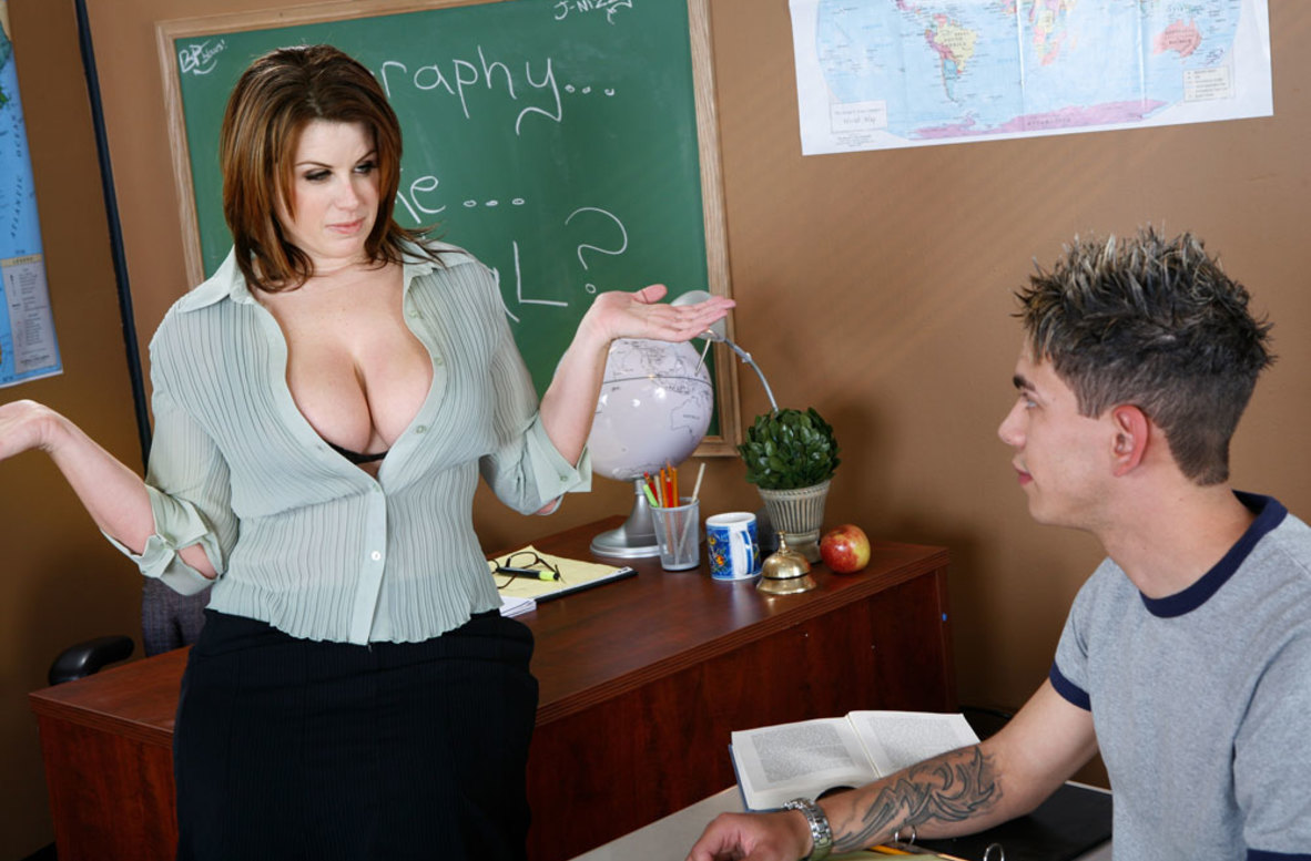 Watch Lisa Sparxxx and Zane video in My First Sex Teacher