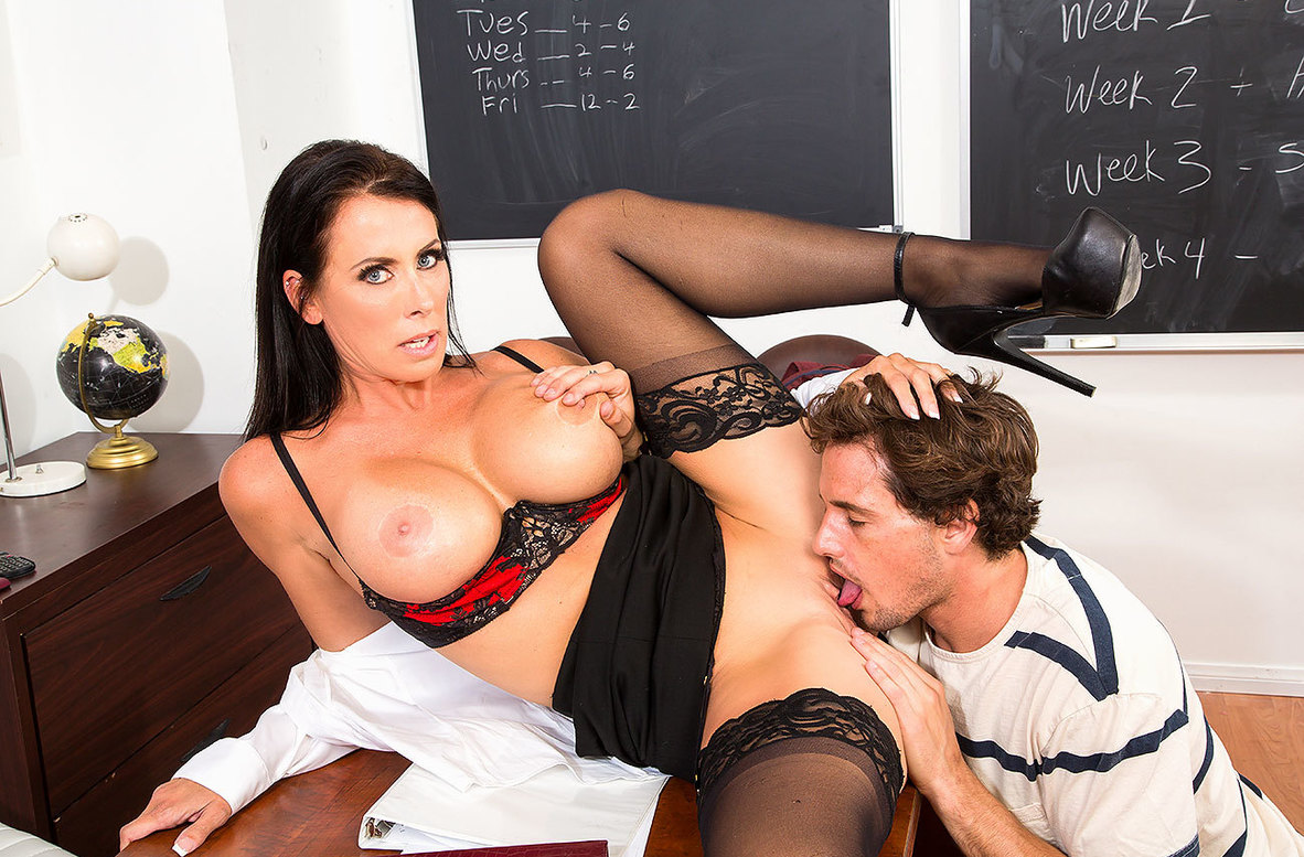 Watch Reagan Foxx and Tyler Nixon 4K video in My First Sex Teacher
