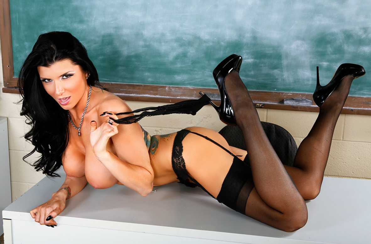 Watch Romi Rain and Johnny Castle 4K video in My First Sex Teacher