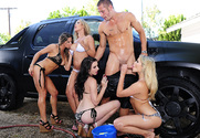 Capri Cavanni & Lexi Belle & Mia Malkova & Rachel Roxxx & Danny Mountain in My Sister's Hot Friend