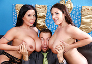 Angela White & Sheridan Love & Chad White in My Wife's Hot Friend