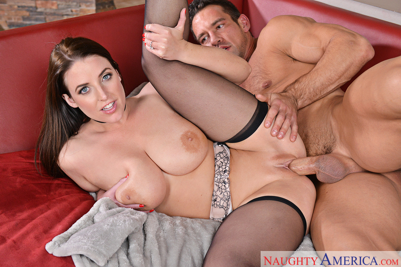 Angela White fucking in the kitchen with her bubble butt - Sex Position 2