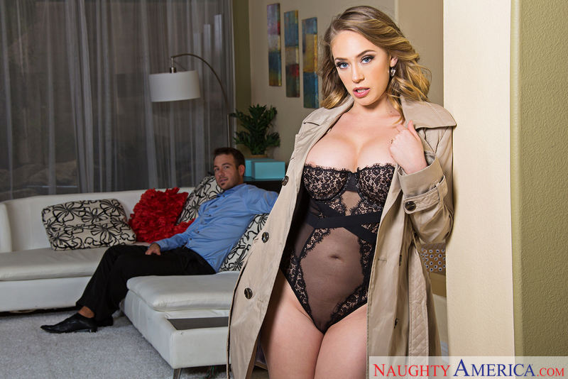 Kagney Linn Karter fucking in the floor with her piercings - Sex Position 1