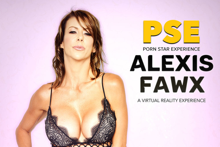 Stone cold Alexis Fawx heats it up in her VR porn experience