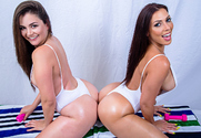 Allie Haze & Rachel Starr & Preston Parker in Naughty America