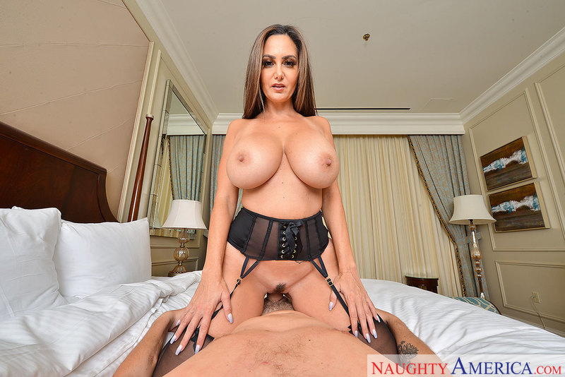 It's a big tits-big ass-VR porn kind of day with Ava Addams  - Blowjob