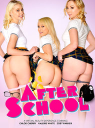 Bad Girl & Classmate Porn Video with American and Blonde scenes