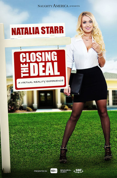 image Real estate agent natalia starr wants to sell a house