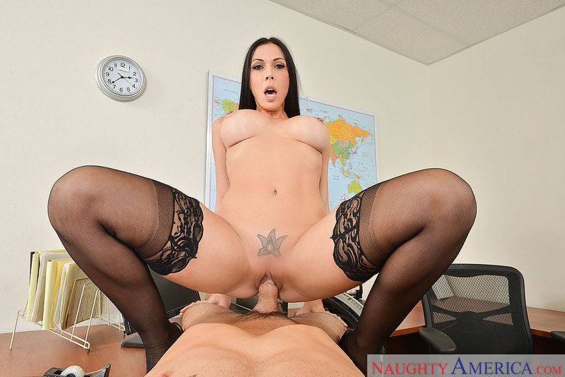 Rachel Starr fucking in the chair with her big tits vr porn - Sex Position 3