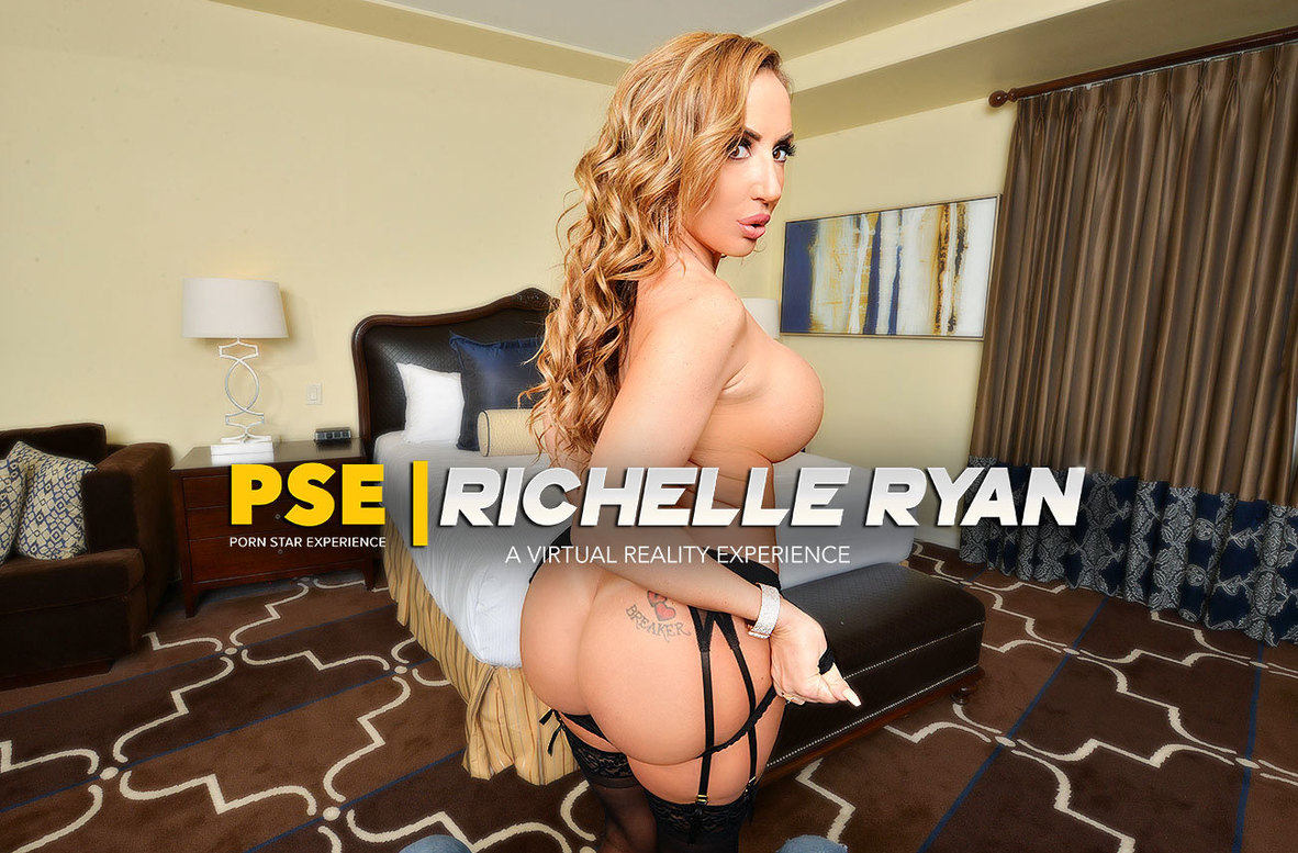 Watch Richelle Ryan and Ryan Driller VR video in Naughty America