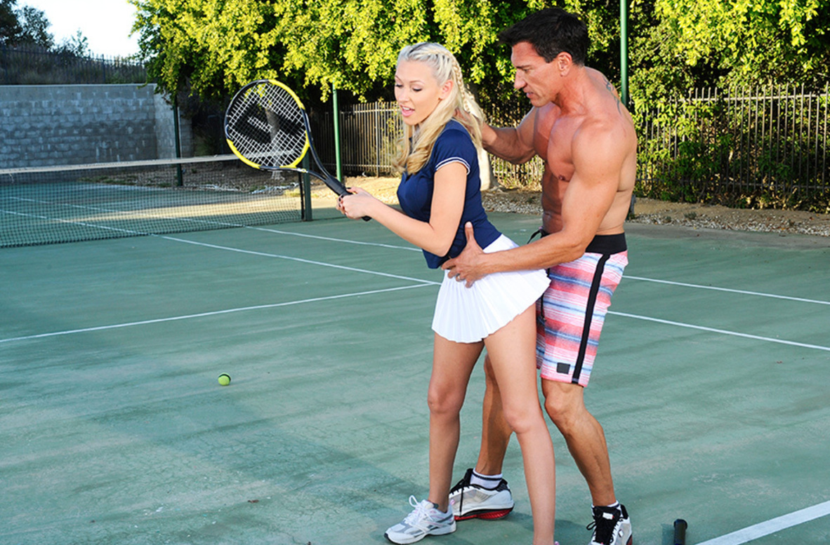 Watch Katie Summers and Marco Banderas video in Naughty Athletics