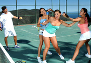 Angelina Valentine & Penny Flame & Victoria Sin & Tony DeSergio in Naughty Athletics