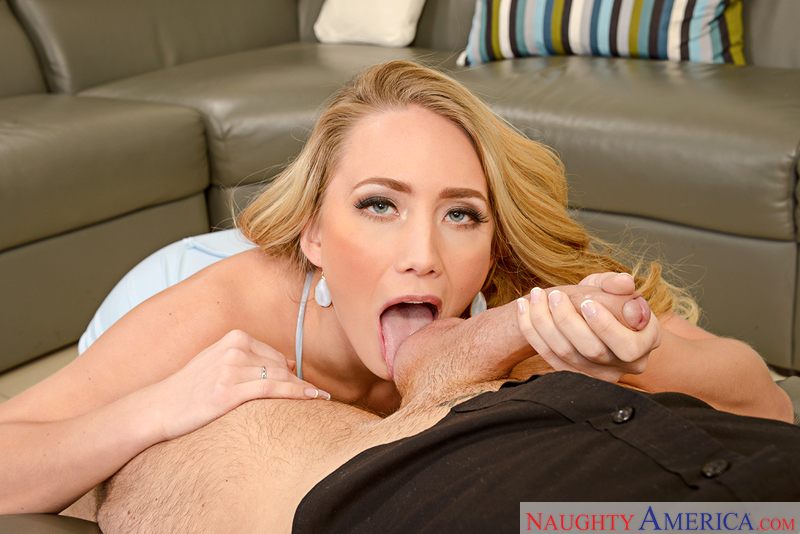 AJ Applegate fucking in the ottoman with her natural tits - Sex Position 2