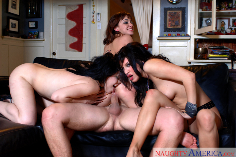Stranger Devi Lynne fucking in the couch with her black hair - Sex Position 3