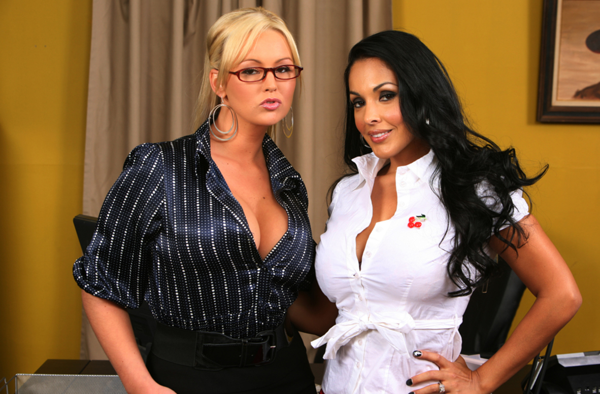 Watch Abbey Brooks and Nina Mercedez video in Naughty Office