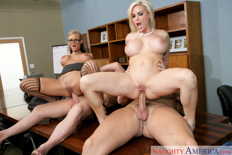 Diamond Foxxx fucking in the table with her big tits - Sex Position 2
