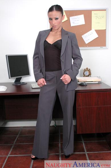 Pants suit porn