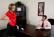 Jenny Hendrix & Tony De Sergio in Naughty Office