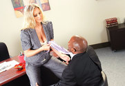 Julia Ann & Prince Yahshua in Naughty Office