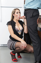 Kimber Lee starring in Co-workerporn videos with American and Ass smacking