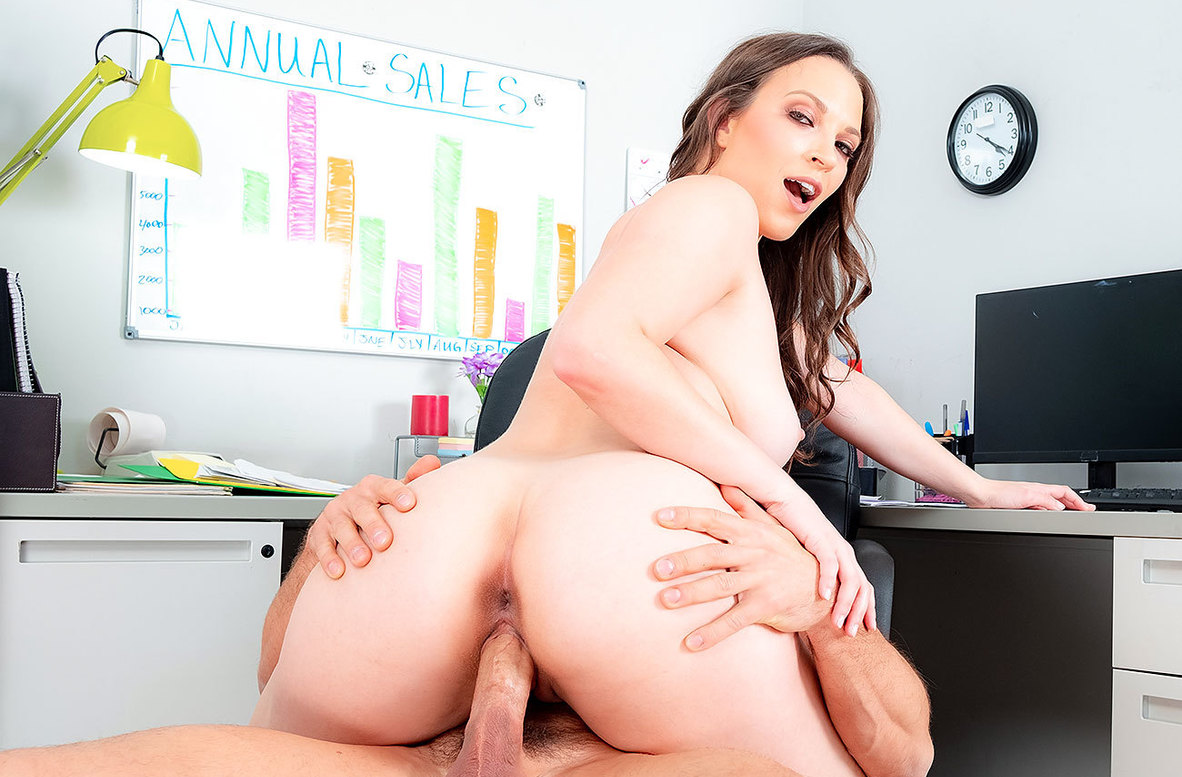 Watch Lily Love and Johnny Castle 4K video in Naughty Office