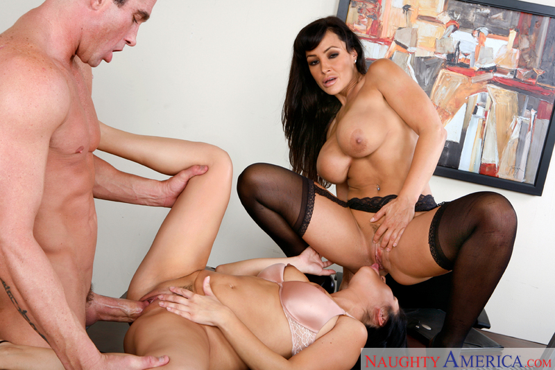 naughty office sativa rose - ... Black hair Lisa Ann fucking in the desk with her lingerie - Sex  Position 3. Written by: Naughty America
